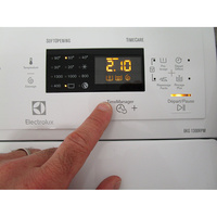 Electrolux EWT1365EL2 - Touches d'option