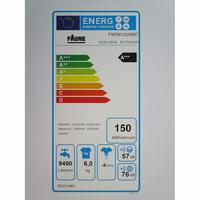 Faure FWQ61229WC - Étiquette énergie