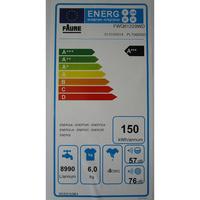Faure FWQ61229WD - Étiquette énergie