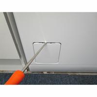 Faure FWQ6412C - Outil nécessaire pour accéder au filtre de vidange