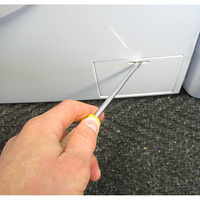 Haier HW70-14636  - Outil nécessaire pour accéder au filtre de vidange