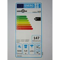 High One (Electro Dépôt) WM805A++WVET - Étiquette énergie
