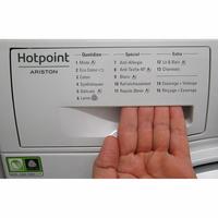 Hotpoint NM11946WSAFR - Ouverture du tiroir à détergents