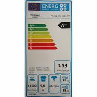 Hotpoint NM11946WSAFR - Étiquette énergie