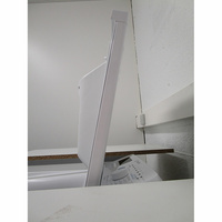 Indesit BTWD61053 - Angle d'ouverture de la porte