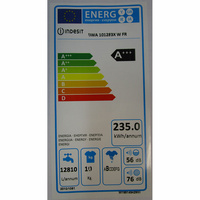 Indesit BWA 101283X W FR - Étiquette énergie
