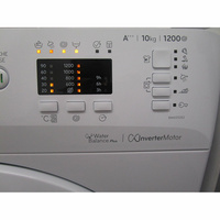 Indesit BWA 101283X W FR - Touches d'option