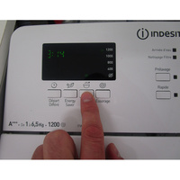 Indesit ITWD 61253 W FR(*42*) - Touches d'option