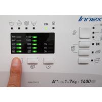 Indesit XWA71452WFR - Afficheur et touches d'options