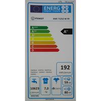 Indesit XWE71252W FR Innex Push&Wash (*20*) - Étiquette énergie