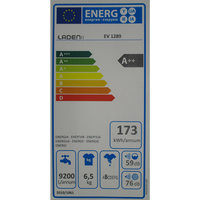 Laden EV1289 - Étiquette énergie