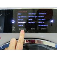 LG F14952WHS - Sélection des programmes par touches (pas de sélecteur)