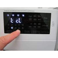 LG F72SJ62WH - Afficheur et touches d'options