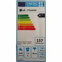 LG F72SJ62WH - Étiquette énergie
