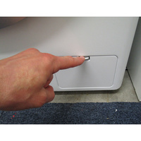 LG F74C41WH(*10*) - Ouverture de la trappe du filtre de vidange