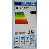 LG F74G62WH - Étiquette énergie