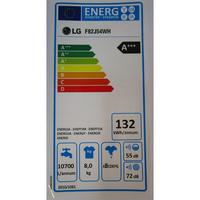 LG F82J54WH - Étiquette énergie