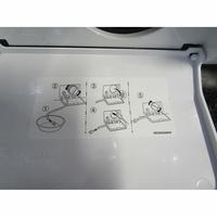 LG F84G62WHS Spa Steam - Autocollant des préconisations d'entretien (dans trappe vidange)