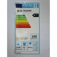 LG F94J53WHS 6 Motion Direct Drive - Étiquette énergie