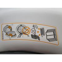 LG F94J53WHS 6 Motion Direct Drive - Autocollant des préconisations d'utilisation