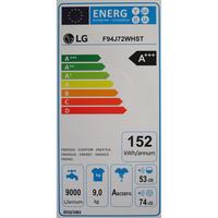 LG F94J72WHST - Étiquette énergie