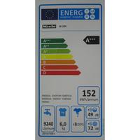 Miele W194 - Étiquette énergie