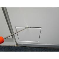 Miele W196 - Outil nécessaire pour accéder au filtre de vidange