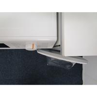 Miele WCG130 - Angle d'ouverture de la porte