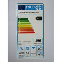Miele WCI660 TDos XL&Wifi - Étiquette énergie