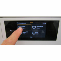 Miele WCR860WPS - Afficheur et touches d'options