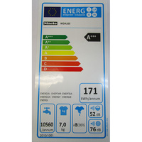 Miele WDA105 - Étiquette énergie