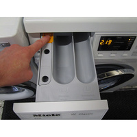 Miele WDA111 - Bouton de retrait du bac à produits
