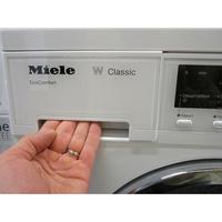 Miele WDA200WPM - Ouverture du tiroir à détergents