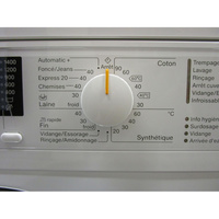 Miele WDA200WPM - Sélecteur de programme et température