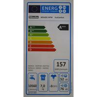 Miele WDA201 WPM - Étiquette énergie