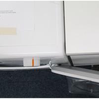 Miele WDB020(*38*) - Angle d'ouverture de la porte