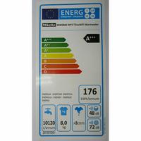 Miele WWE860WPS AllWater - Étiquette énergie