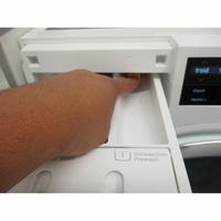 Miele WWG660 - Bouton de retrait du bac à produits