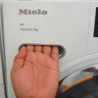 Miele WWG660 - Ouverture du tiroir à détergents