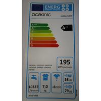 Oceanic (Cdiscount) OCEALL7120W - Étiquette énergie