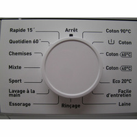 Proline FP 610 W - Sélecteur de programme et température