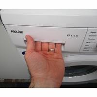 Proline FP 610 W - Ouverture du tiroir à détergents