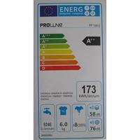 Proline FP126 - Étiquette énergie