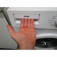 Saba (Conforama) LFS610BE17W - Ouverture du tiroir à détergents