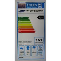 Samsung WF90F5E3U4W  - Étiquette énergie
