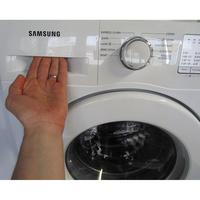 Samsung WW70J3283KW 1  - Ouverture du tiroir à détergents