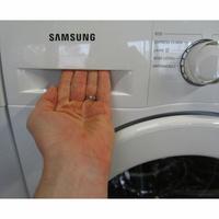 Samsung WW70J3467KW - Ouverture du tiroir à détergents