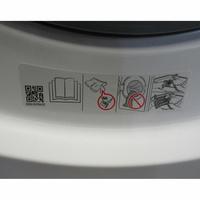 Samsung WW70J3467KW - Autocollant des préconisations d'utilisation