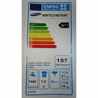 Samsung WW70J3467KW - Étiquette énergie