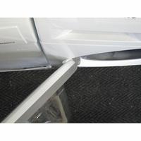 Samsung WW70J3467KW - Angle d'ouverture de la porte